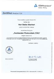 Fachberater TÜV Stefan Eberhart