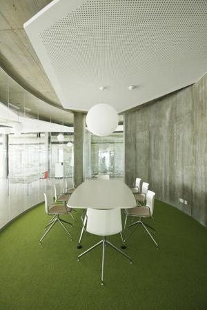Inneneinrichtung Besprechungszimmer Oval