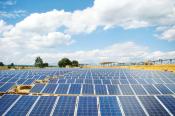 Photovoltaik-Anlage Außenfläche
