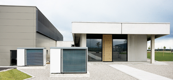 Wärmepumpen Gebäudeheizung Solera