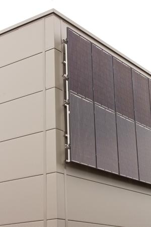 Fassade Photovoltaik-Anlage