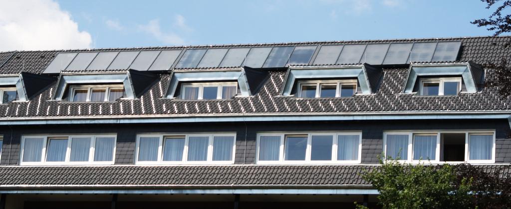 Solarthermie Aufdachanlage