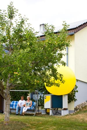 Ehepaar Walter Hochmössingen Photovoltaik-Anlage und Wärmepumpe