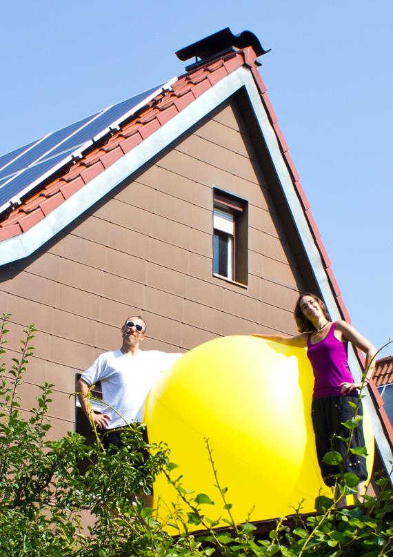 Herr Bader und Frau Bader-Ramos Göppingen Photovoltaik-Anlage, Batteriespeicher und Pelletheizkessel groß