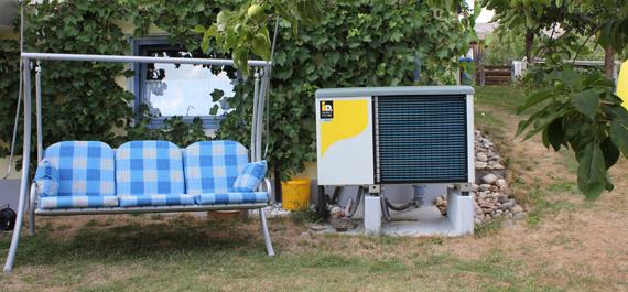 Luftwärmepumpe Außenaufstellung