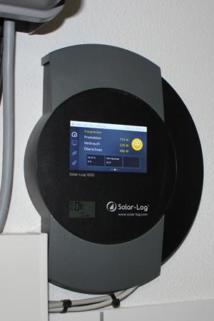 SolarLog Anzeige mit S0-Zähler