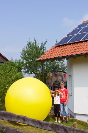 Thilo Berger, Photovoltaik-Anlage und Batteriespeicher