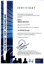 Stefan Eberhart Fachbetrieb Energie Zollernalb