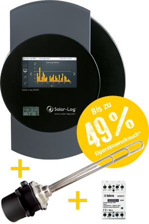 Aktionsangebot Solar-Log + EGO Heizstab + Zähler