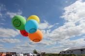 Erlebnis Zukunft 2017 Luftballons