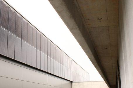 Fassaden PV Anlage